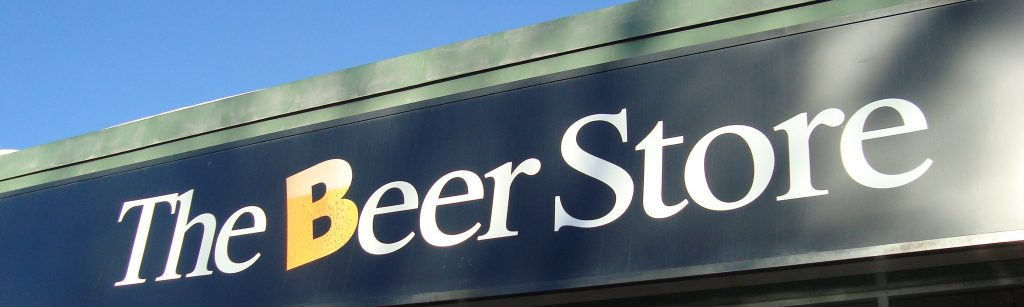 Alcoholic Beverages in Canada. The Beer Store