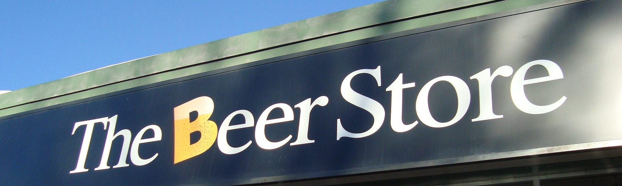Alkoholische Getränke in Kanada. Der Beer Store