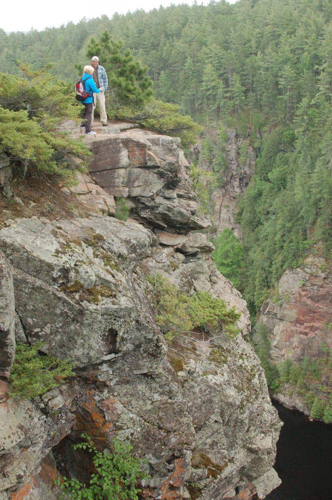 Wandern in Kanada im Barron Canyon