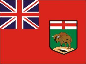 Flagge Manitoba