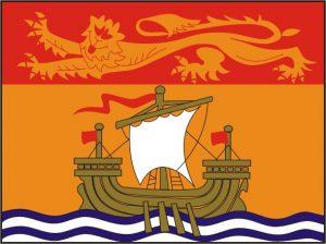 Flagge Provinz New Brunswick