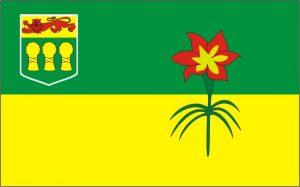 Flagge-Saskatchewan