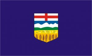 Flagge Alberta