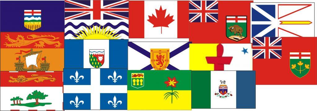 Flaggen von Kanadas Provinzen