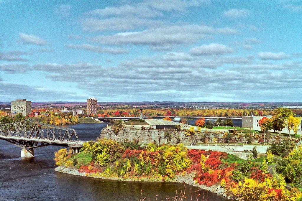 Ottawa im Herbst - Haupt Reisezeit in Kanada