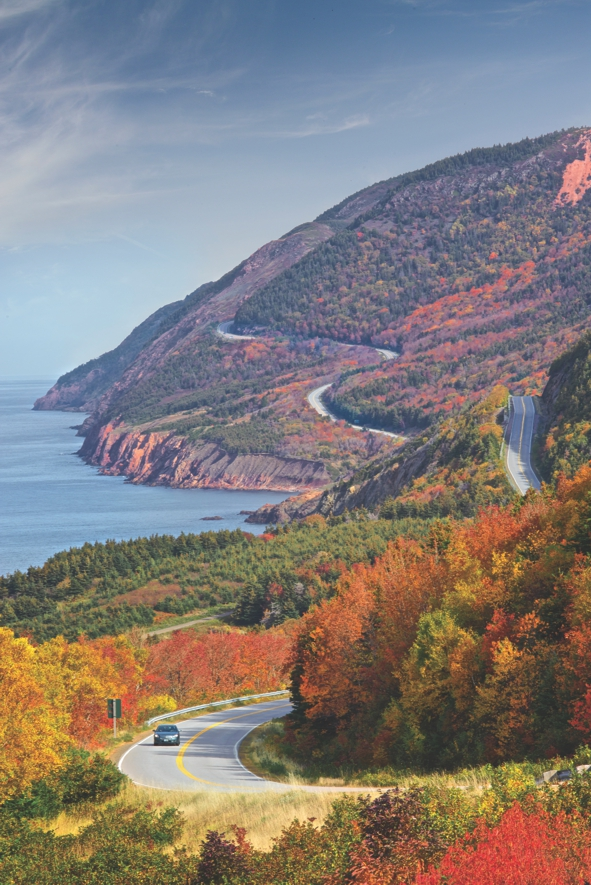 Cabot Trail in the Fall, Cape Breton