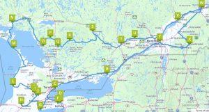Grosse Rundfahrt Quebec und Ontario
