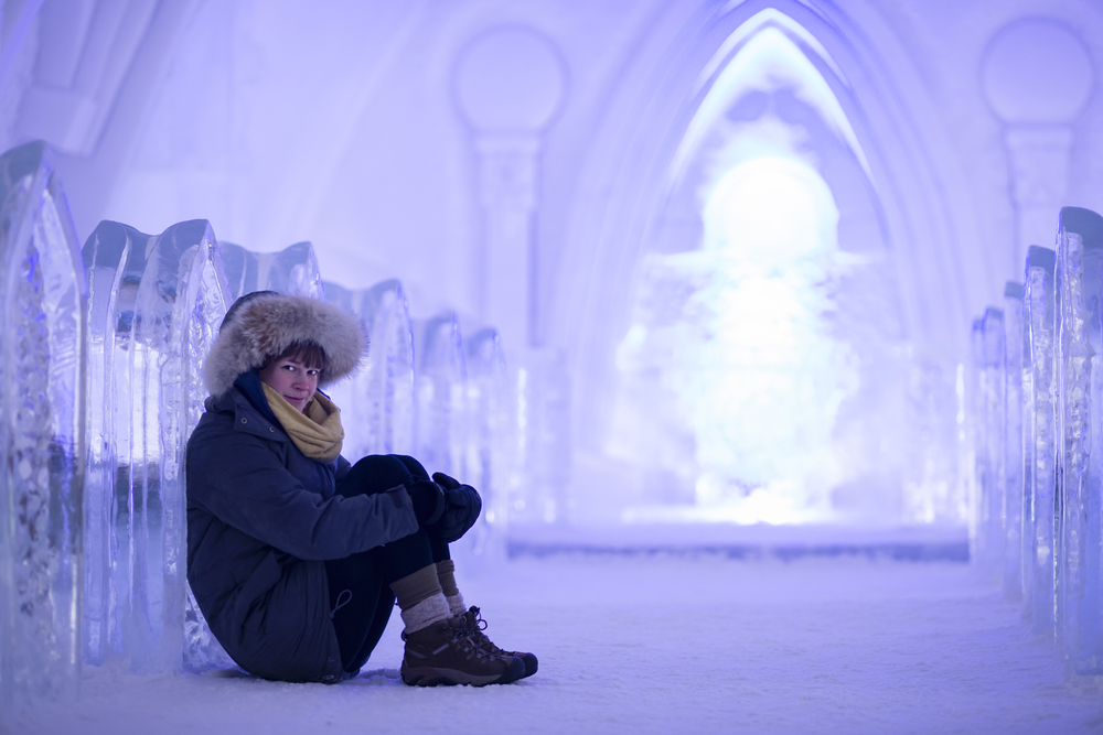 Ice Hotel Canada, Quebec City, Credit: Lauren Bath