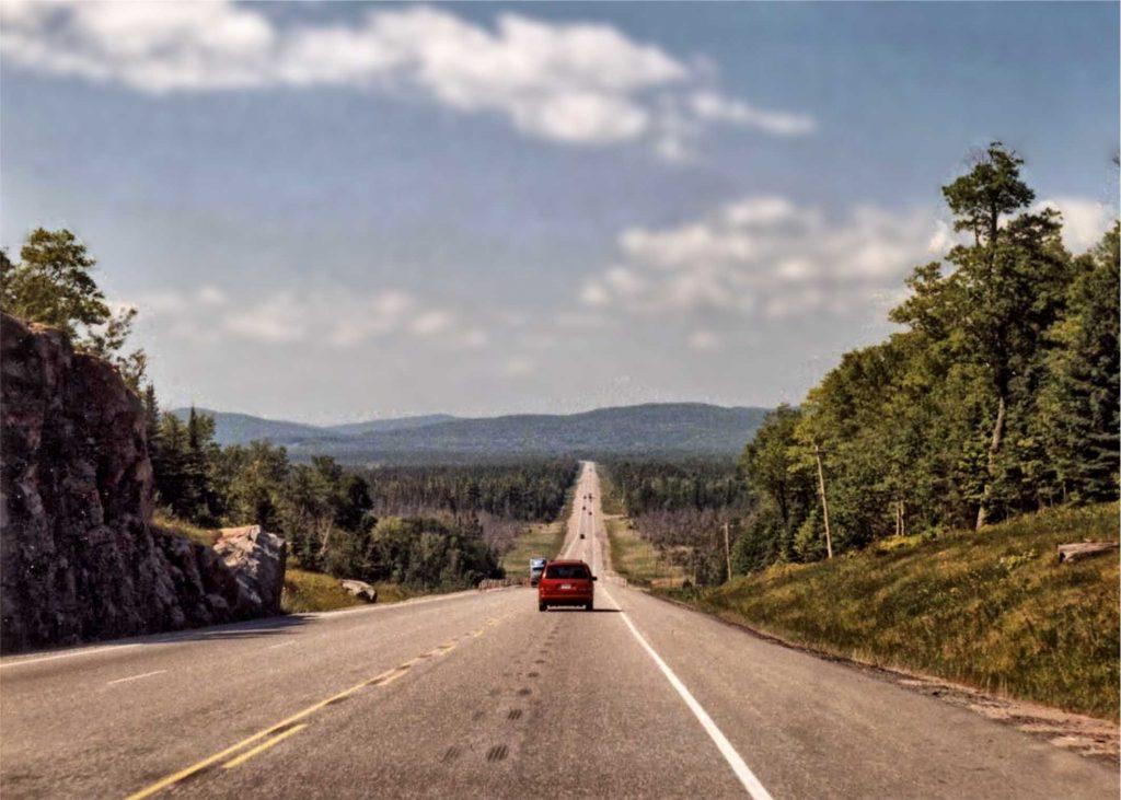 Routenvorschläge Kanada. Das zieht sich. Planen Sie sorgfältig die Entferneungen ein.