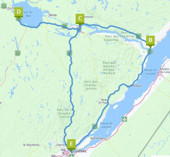 Rundreise Saguenay und St. Lorenz Strom