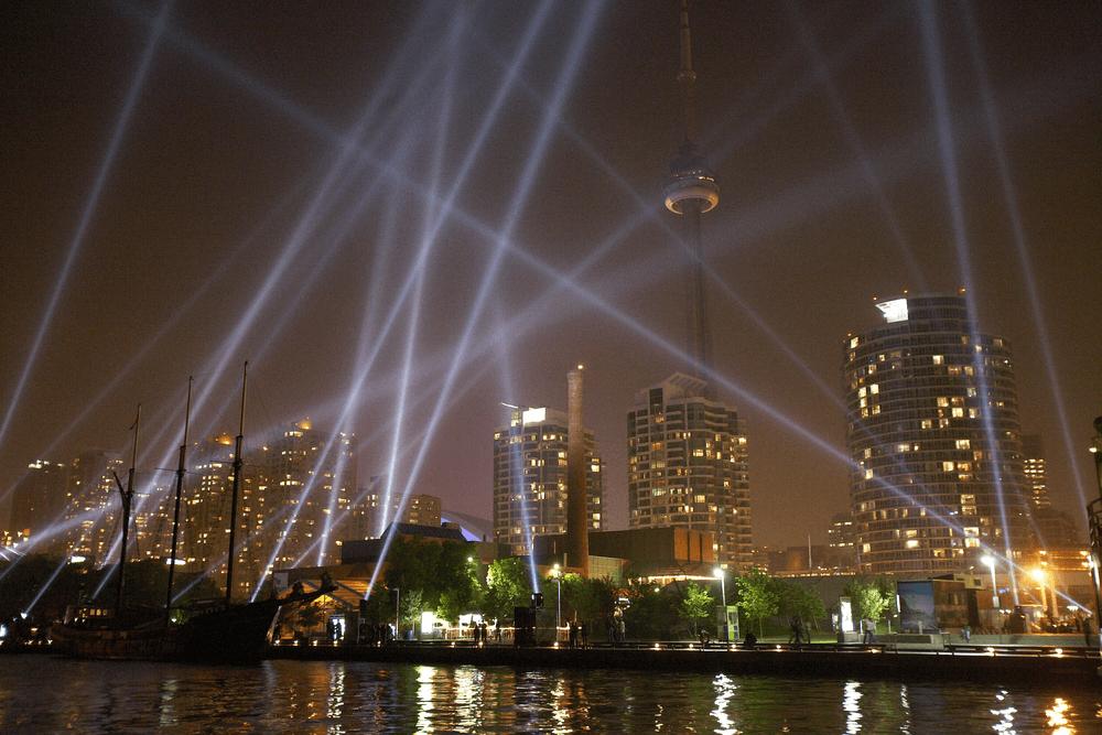 Skyline Toronto mit CN Tower