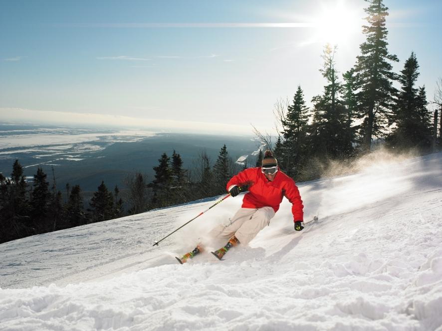 Mont-Sainte-Anne Ski Resort, Credit: Québec City Tourism/Camirand Photo