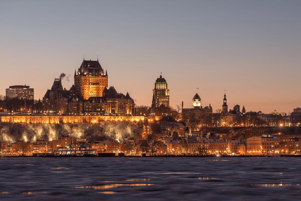 Cities in Eastern Canada - Québec City