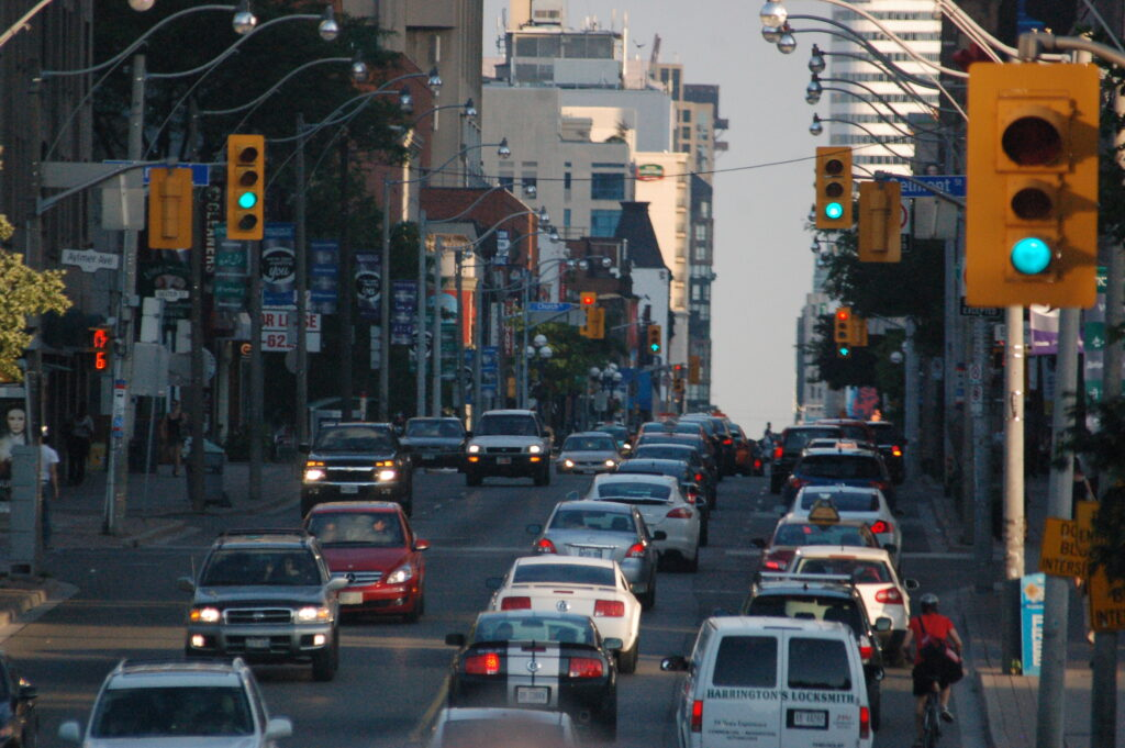 Driving in Canada - Toronto