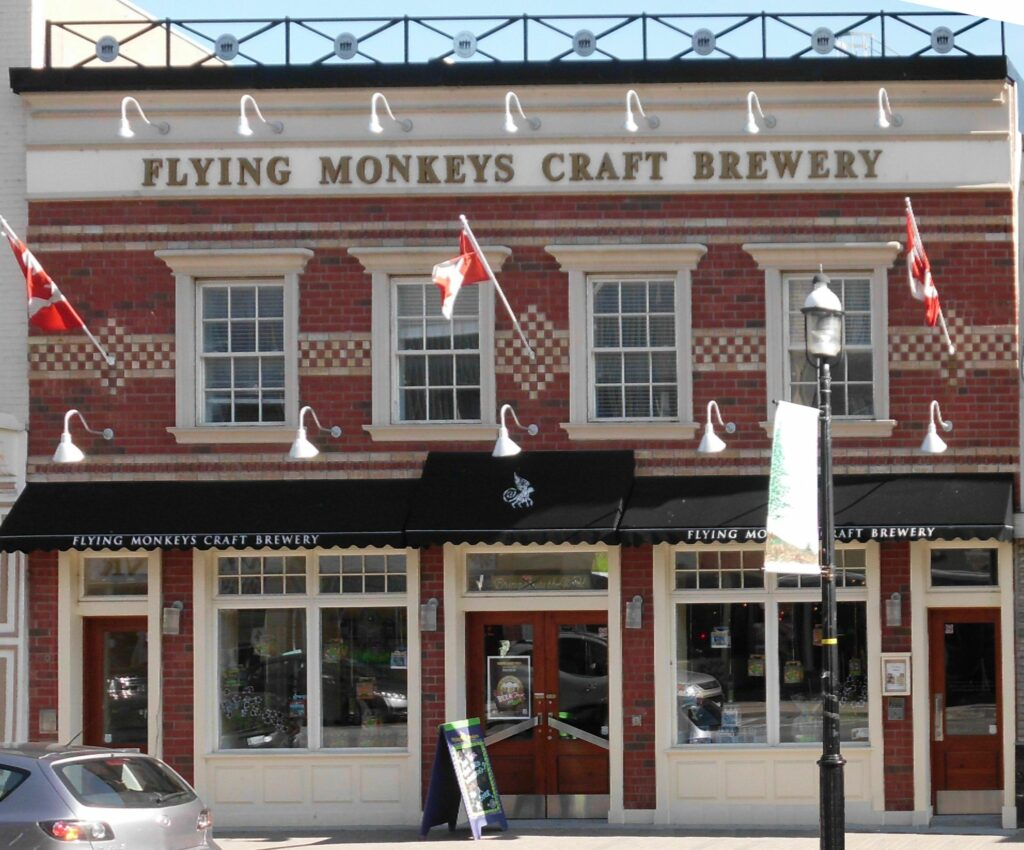 Alcoholic beverages in Canada - Flying Monkey Brewery