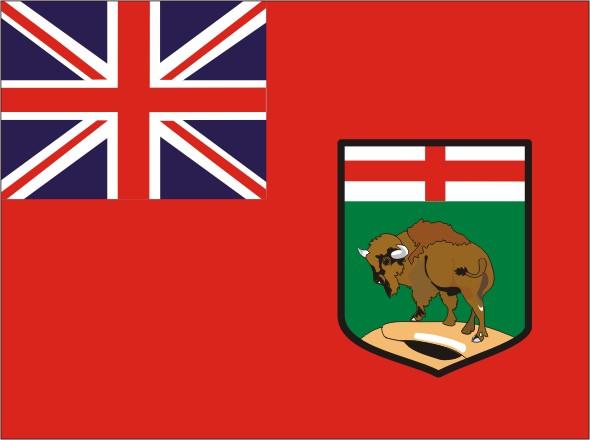 Flag Manitoba - Provinces and territories Canada