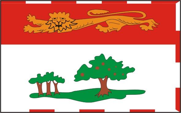 Flag Prince Edward Island - Provinces and territories Canada
