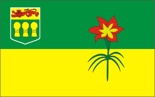 Flag Saskatchewan