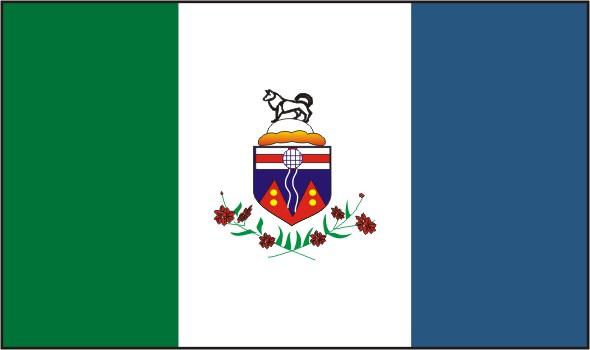 Flag Yukon Territory