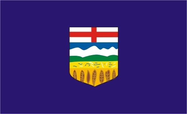 Flag Alberta - Provinces and territories Canada