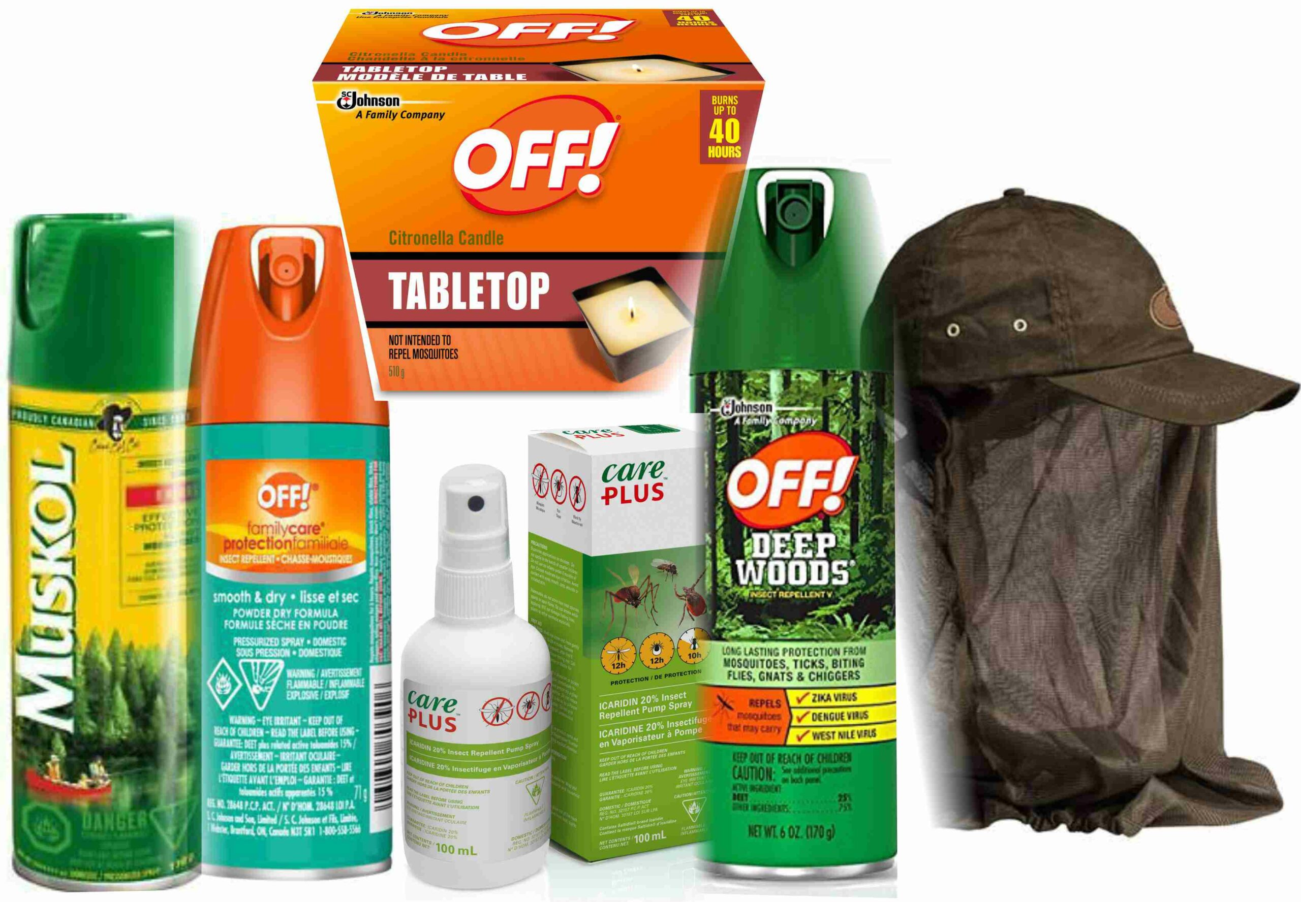 Insects in Canada - Bug repellent