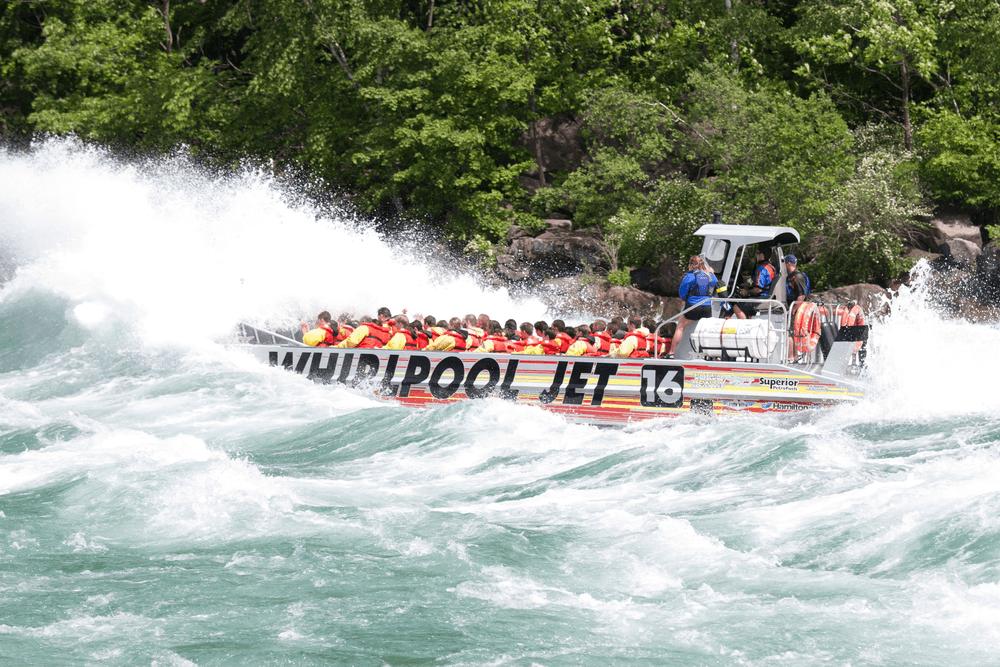 Whirlpool Jet Boats tour, Niagara Falls, Ontario