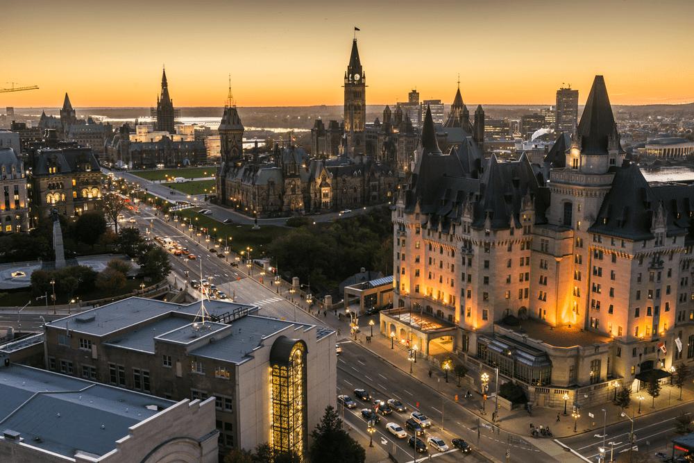 Cities in Eastern Canada - Ottawa