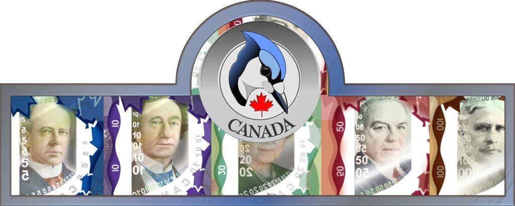 Banknoten in Kanada - Kanadas Währung