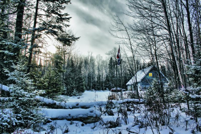 Winter in Ost Kanada, Québec
