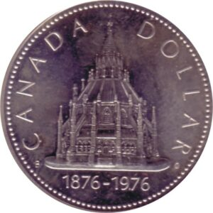 Kanadischer Dollar 1976 Sonderprägung
